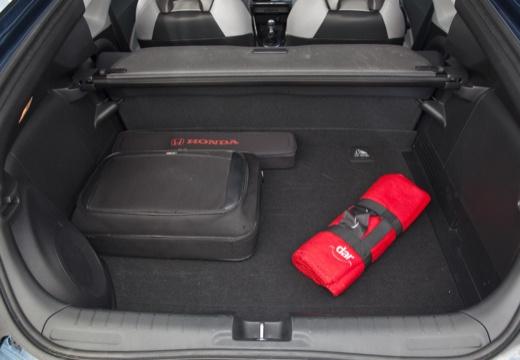 HONDA CR-Z coupe niebieski jasny przestrzeń załadunkowa