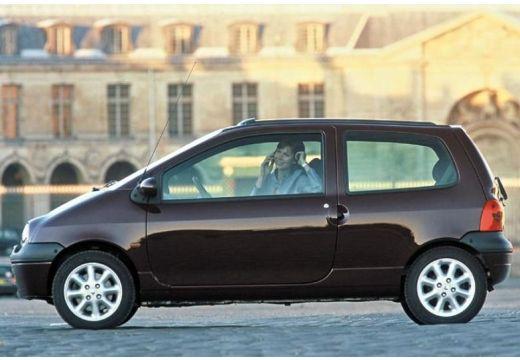 RENAULT Twingo II hatchback fioletowy boczny lewy