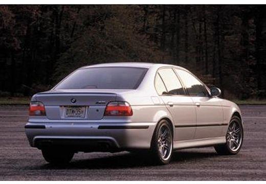 BMW Seria 5 E39/4 sedan silver grey tylny prawy