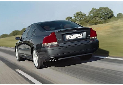 VOLVO S60 I sedan szary ciemny tylny lewy