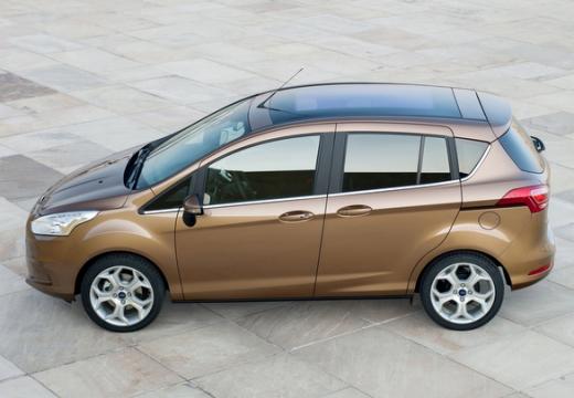 FORD B-MAX I hatchback brązowy boczny lewy