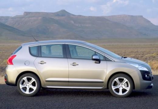PEUGEOT 3008 I hatchback silver grey boczny prawy