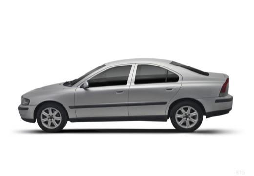 VOLVO S60 I sedan boczny lewy