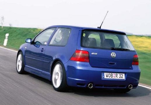 VOLKSWAGEN Golf IV hatchback niebieski jasny tylny lewy