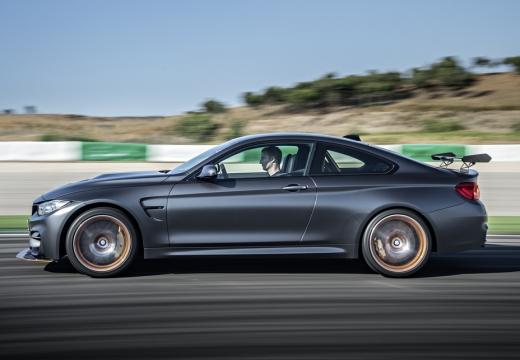 BMW Seria 4 F32 coupe szary ciemny boczny lewy