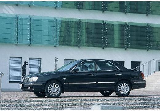 HYUNDAI XG sedan czarny przedni lewy