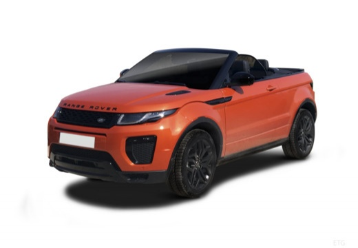 LAND ROVER Range Rover kabriolet przedni lewy