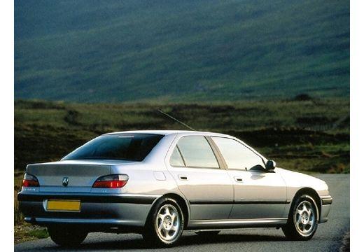 PEUGEOT 406 II sedan silver grey tylny prawy