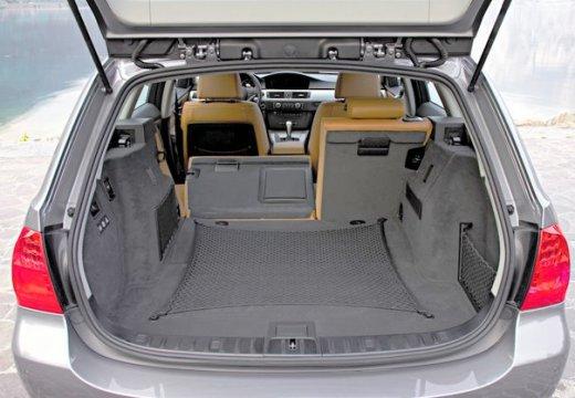 BMW Seria 3 Touring E91 II kombi przestrzeń załadunkowa