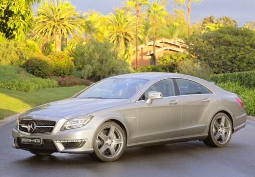 MERCEDES-BENZ Klasa CLS C 218 I sedan silver grey przedni lewy