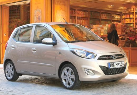 HYUNDAI i10 II hatchback silver grey przedni prawy