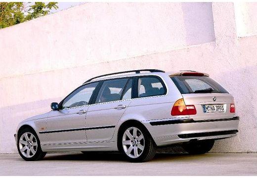 BMW Seria 3 Touring E46 kombi silver grey tylny lewy