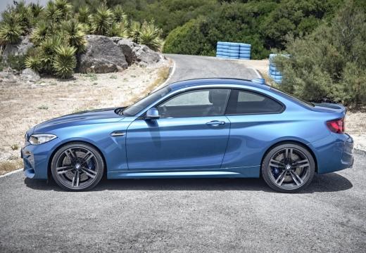 BMW Seria 2 F22 I coupe niebieski jasny boczny lewy