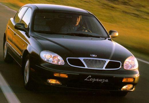DAEWOO / FSO Leganza sedan czarny przedni prawy