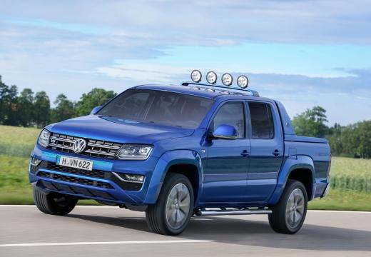VOLKSWAGEN Amarok pickup niebieski jasny przedni lewy