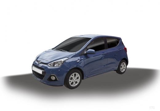 HYUNDAI i10 III hatchback niebieski jasny