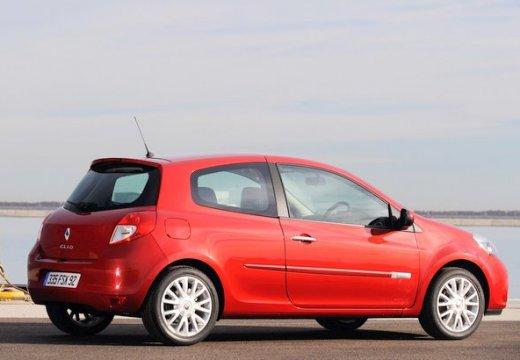 RENAULT Clio hatchback czerwony jasny tylny prawy