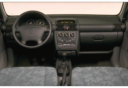 OPEL Corsa B hatchback tablica rozdzielcza