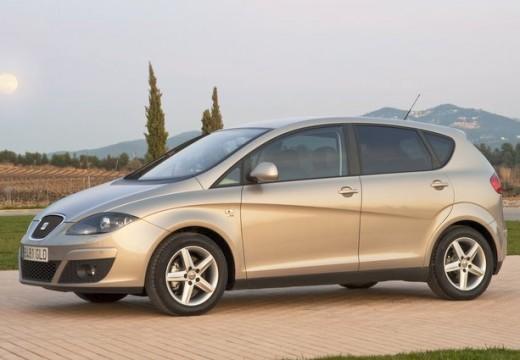 SEAT Altea II hatchback silver grey przedni lewy