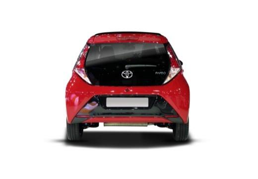 Toyota Aygo IV hatchback tylny