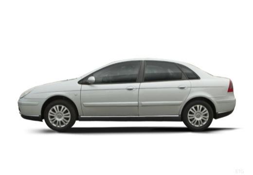 CITROEN C5 II hatchback silver grey boczny lewy