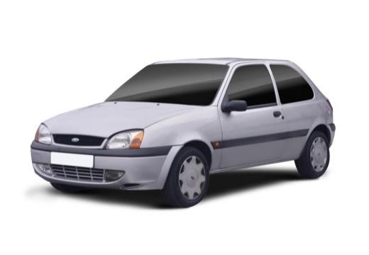 FORD Fiesta hatchback silver grey przedni lewy