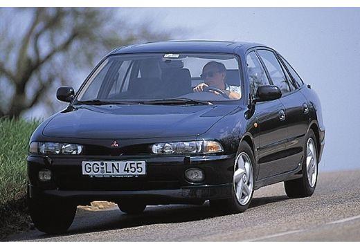 MITSUBISHI Galant II hatchback czarny przedni lewy