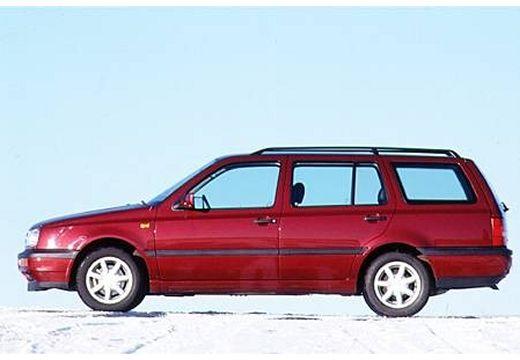 VOLKSWAGEN Golf III Variant kombi bordeaux (czerwony ciemny) boczny lewy