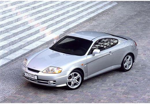 HYUNDAI Coupe III coupe silver grey przedni lewy