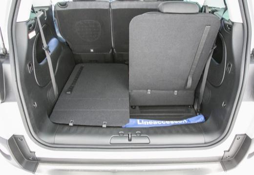 FIAT 500 L Living kombi silver grey przestrzeń załadunkowa