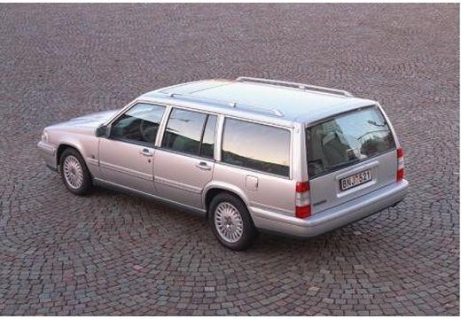 VOLVO 960 kombi silver grey tylny lewy