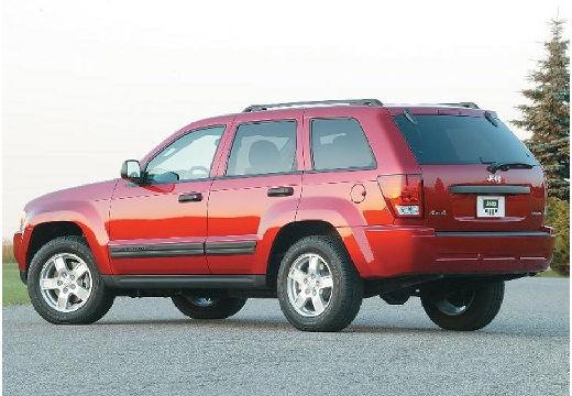 JEEP Grand Cherokee III kombi czerwony jasny tylny lewy