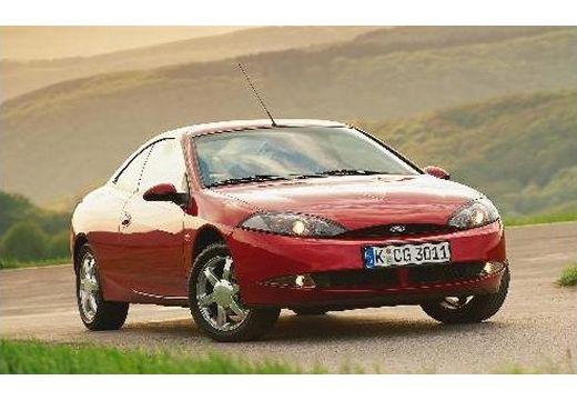 FORD Cougar coupe czerwony jasny przedni prawy