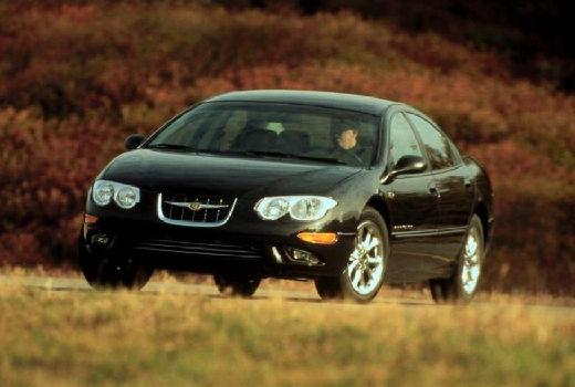 CHRYSLER 300 M I sedan czarny przedni lewy