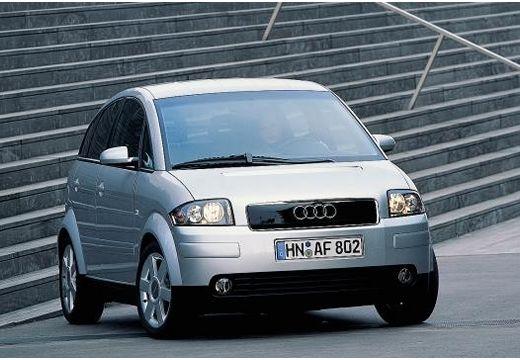 AUDI A2 hatchback silver grey przedni prawy