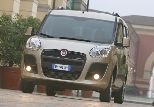 FIAT Doblo III kombi silver grey przedni lewy
