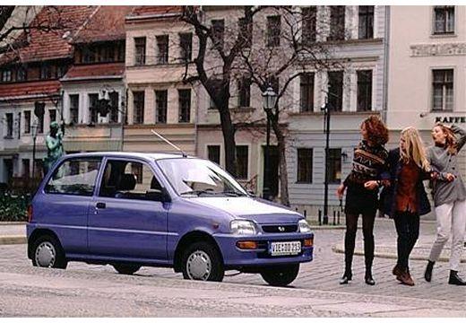 DAIHATSU Cuore III hatchback fioletowy przedni prawy