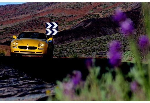 MASERATI 4200 Spyder roadster żółty przedni
