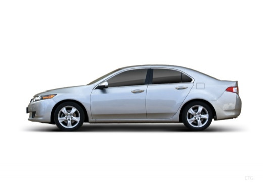 HONDA Accord VII sedan silver grey boczny lewy