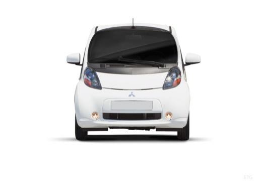 MITSUBISHI i-MiEV hatchback biały przedni