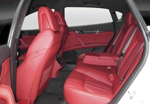 MASERATI Quattroporte V sedan wnętrze