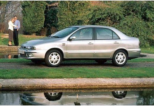 FIAT Marea I sedan silver grey boczny lewy