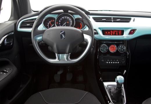 CITROEN DS3 hatchback szary ciemny tablica rozdzielcza