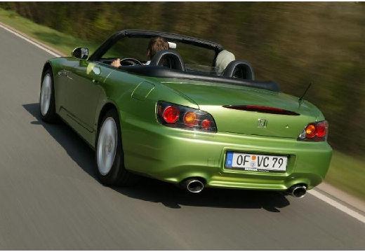 HONDA S 2000 I roadster zielony tylny lewy