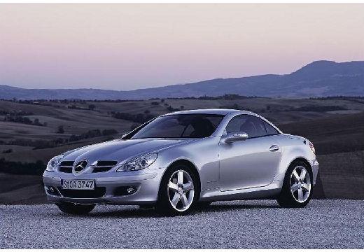 MERCEDES-BENZ Klasa SLK SLK R 171 I roadster silver grey przedni lewy