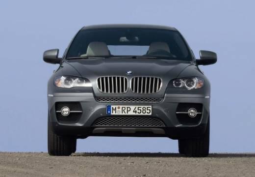 BMW X6 hatchback szary ciemny przedni
