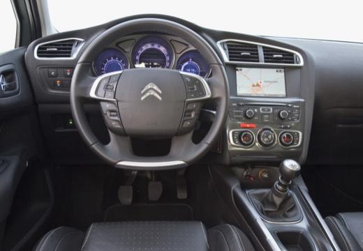 CITROEN C4 III hatchback silver grey tablica rozdzielcza