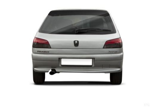 PEUGEOT 306 II hatchback tylny