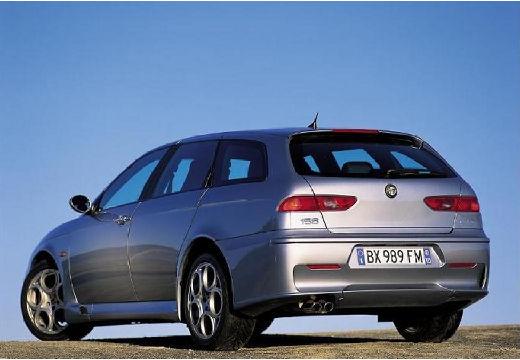 ALFA ROMEO 156 Sportwagon III kombi silver grey tylny lewy