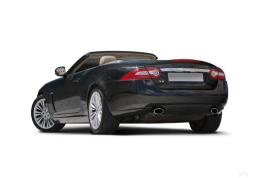 JAGUAR XK Convertible II kabriolet czarny tylny lewy